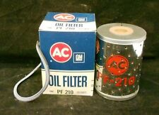 "GM AC OIL FILTER TYPE: PF-210 APPROX 4 3/4"" HEIGHT, 3 3/8"" DIAMETER"