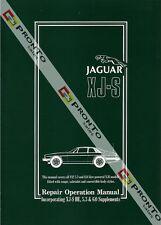 FACTORY WORKSHOP SERVICE REPAIR OPERATIONS MANUAL BOOK JAGUAR XJ-S XJS V12 76-93