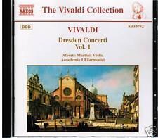 CD VIVALDI DRESDEN CONCERTI VOL. 1 ALBERTO MARTINI VIOLIN ACCADEMIA FILARMONICI