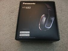 Panasonic RP-HT480C-S Headphones with Remote and Mic, Silver