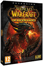 31425 // WORLD OF WARCRAFT EXTENSION CATACLYSM POUR PC NEUF