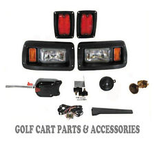 Club Car DS Golf Cart Headlight & Tail Light Kit Deluxe Street Package