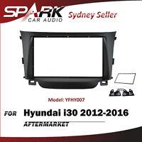 SP Double 2 DIN Facia Kit Panel Fascia Dash Plate For Hyundai i30 2012-2016