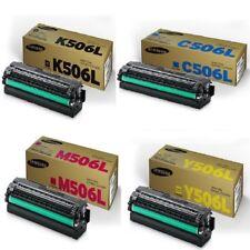 2x SET Genuine CLT-K506L CLT-M506L CLT-Y506L CLT-C506L Samsung CLP680 CLX6260