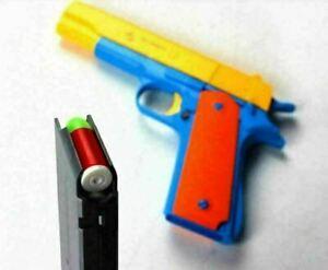 Kids Guns Soft Gun Outdoor Colt Dart Toy Bullet M1911 Pistol Classic