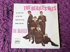 """The Beatles – The Beatles' Hits Vinyl 7"""" EP 1963 Spain DSOE 16.561 1st Pressing"""
