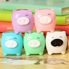 School Supplies Animal Pig Pencil Sharpener Candy Colored Children Gifts
