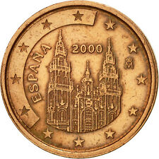 [#466522] Espagne, 2 Euro Cent, 2000, SUP+, Copper Plated Steel, KM:1041
