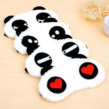 Cute Panda Face Eye Travel Sleeping Mask Blindfold Portable Nap Christmas Gift