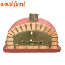 brick outdoor wood fired Pizza oven 90cm brick red Italian model