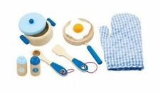Viga Children's Blue Kitchen Utensil Set (FREE DELIVERY)