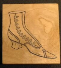 Great Impressions Victorian Boot Rubber Stamp G89