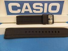 Casio Watch Band EFA-132 Black Resin Edifice Strap Watchband