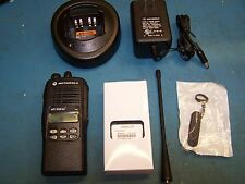 Motorola HT1250 LS+ UHF 450-512MHz AAH25SDH9DP5AN Mint Tested