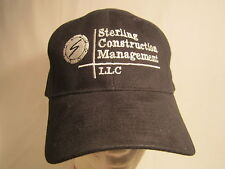 Men's Cap STERLING CONSTRUCTION MANAGEMENT Size: Adjustable [Z164d]