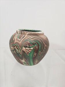 Vintage Art Bowl Pottery Seven Falls Colorado