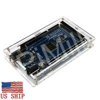 Transparent Acrylic Case Shell Enclosure Gloss Box For Arduino MEGA 2560 R3