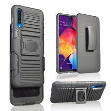 Fr Samsung Galaxy A50 20 30 10 S10 Note10 J4 6Shockproof Belt Clip Holster Case