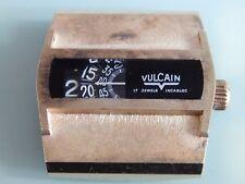 vintage VULCAIN jumping hour 2321 running, selfwinding, caliber R879,