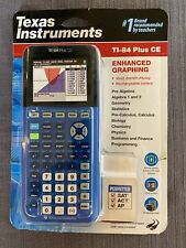 Texas Instruments TI-84 Plus CE (033317209187) BLUE