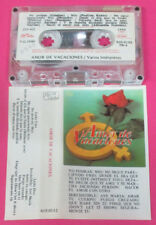 MC compilation AMOR DE VACACIONES Cristian Paulina Rubio Thalia no cd lp dvd vhs