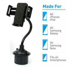 Car Mount Windshield Cup Holder Cradle For iPhone 11 Pro Samsung S20 Universal