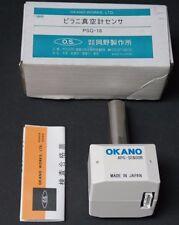 NIB OKANO WORKS PSG-18 VACUUM PRESSURE SENSOR PSG18, APG SENSOR