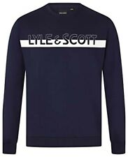 LYLE AND SCOTT  MEN'S CREW NECK SWEATSHIRT (Large Logo)
