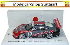 Porsche 911 GT3 Cup #23 Winner Carrera Japan Cup Fuji 2017 Spark 1:43 Limited