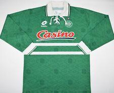1994-1995 SAINT ETIENNE LOTTO HOME FOOTBALL SHIRT (SIZE L)