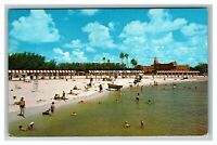 Spa Beach St. Petersburg FL c1970 Chrome Postcard L5
