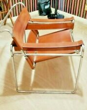 Cognac Wassily B3 chair by Marcel Breuer, 1968 Original , Rare