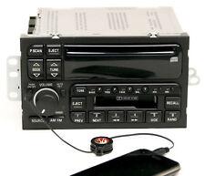 1996-03 Buick LeSabre Regal Century AM FM CD Cassette Radio w Aux Input 09373354