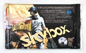 1998 Skybox Metal Universe MLB Baseball Trading Cards Sealed Pack