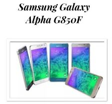 Samsung Galaxy Alpha Black Unlocked SM- G850F LIKENEW 32gb 4G Smartphone