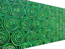 Green Abstract Aboriginal Art