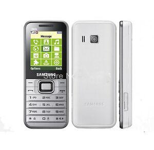 Original Samsung GT-E3210 Unlocked Cellphone 3G Bluetooth Mobile Phone