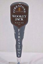 Firestone Wookey Jack Black Rye IPA Beer Tap Handle
