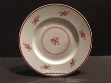 """Crown Devon S. Fielding & Co Chelsea Red Dinner Plate 10 1/2"""" EUC!"""