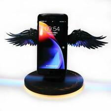 10W LED Color Angel Wings Qi Wireless Fast Charger Stand Holder For Mobile Phone