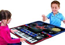 Manta Musical Bateria y Teclado Conexion MP3 CD Juguete Musical para 2 Niño Niña