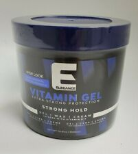 New Elegance Extra Strong  Vitamin Hair Gel 33.8oz / 1000ML