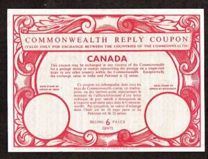Canada Revenue Stamp  - Imperial and Commonwealth Reply Coupon  lot  1715