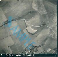 Orig WW2 Photo operation Bodyguard D Day Deception  Ariel Shot of Kent Camouflag