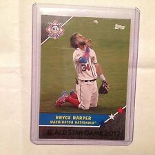 BRYCE HARPER Nationals 4/5 made black 2017 TOPPS ON-DEMAND All Star Homage to 87