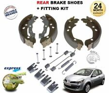 FOR RENAULT CLIO MK3 1.2 1.4 1.5 1.6 2005-2013 REAR BRAKE SHOES & FITTING KIT