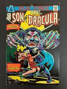 FRIGHT SON OF DRACULA #1 *VERY SHARP!* (ATLAS, 1975)  THORNE ART!  LOTS OF PICS!
