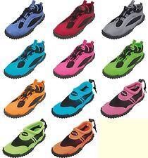 Playshoes Damen Herren Badeschuhe Aqua Schuhe, Schwimm- und Sportschuh 36 bis 44