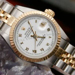 🎀*Rolex Oyster Perpetual*Datejust*Stahl/Gold*Lady*Ref. 69173*26mm*Automatik*