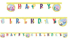 Peppa Pig Happy Birthday Cardboard Banner 2.3m Long